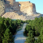 The Crazy Horse Memorial near Custer, SD