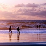 Sunset Silhouettes at Cannon Beach