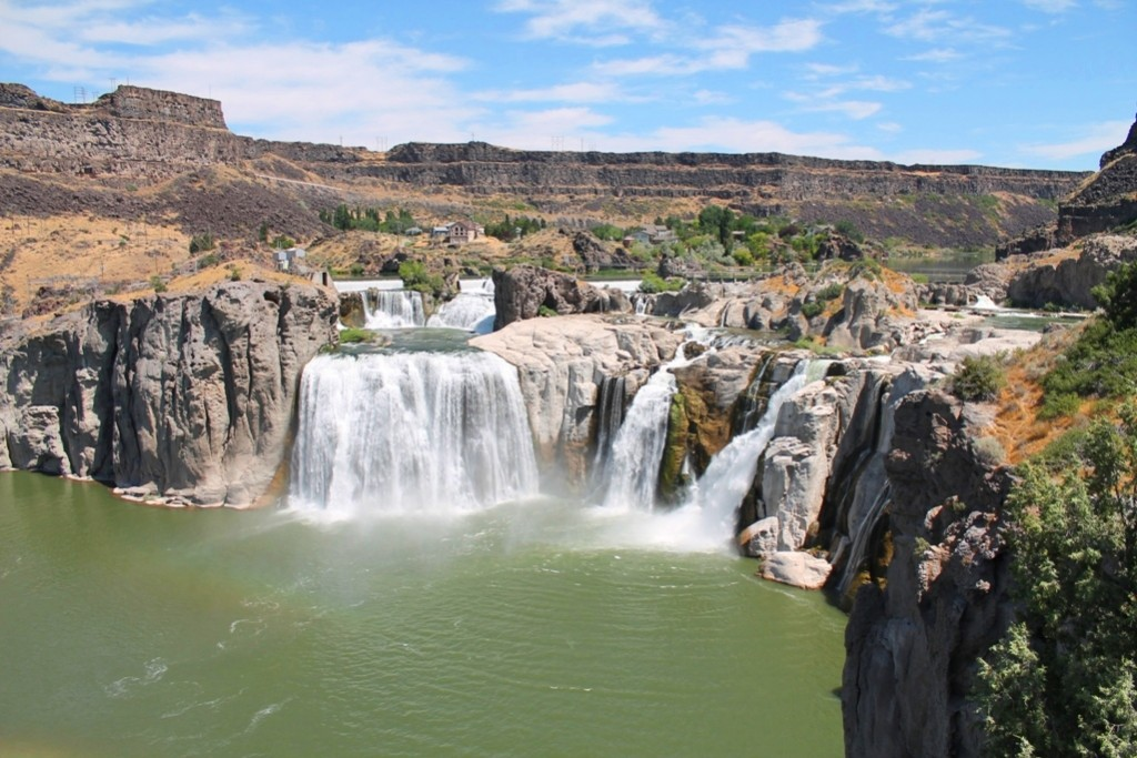 Shoshone Falls. The Niagara Falls of the west.